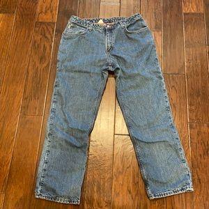 Carhartt Fleece Lined Jeans Work Jeans